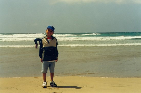 Famara Beach: onde