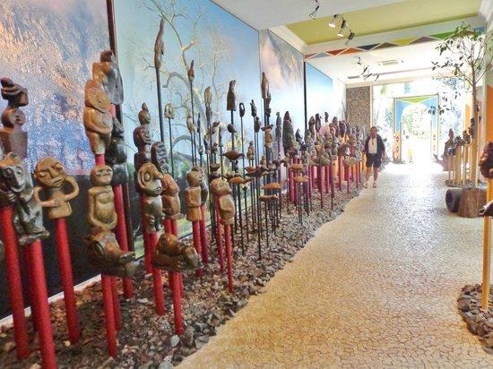 Monte Palace Tropical Garden : Afrikansk kunst