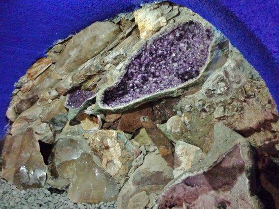 Monte Palace Tropical Garden : en enkelt af de mange i mineralsamlingen