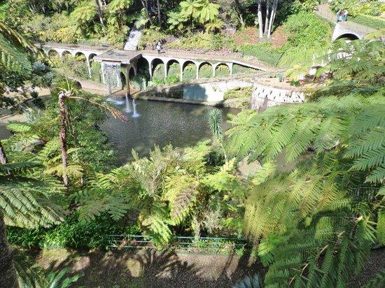 Monte Palace Tropical Garden : udsigtspunkt
