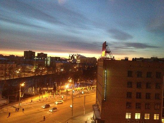 Hilton Moscow Leningradskaya: Вид из номера 6 этажа