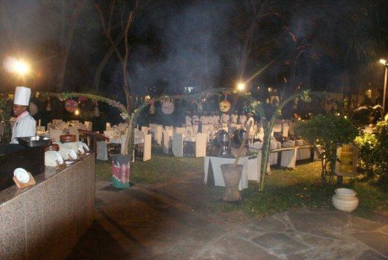 Ocean Village Club: Abendessen im Freien