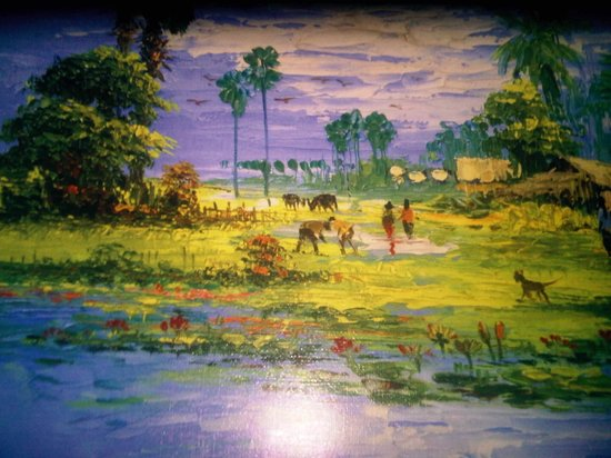 Angkor Heritage Boutique Hotel: nice picture selling at Angkor wat Area