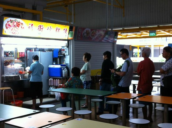 Hill Street Fried Kway Teow : A Queue No Matter What Time of Day