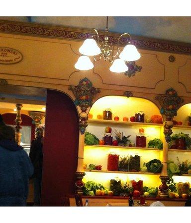 Polakowski Self Service Restaurant: Оформление внутри