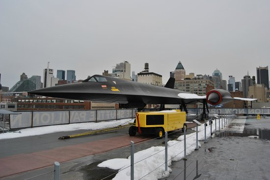 Intrepid Sea, Air & Space Museum: BLACK BIRD
