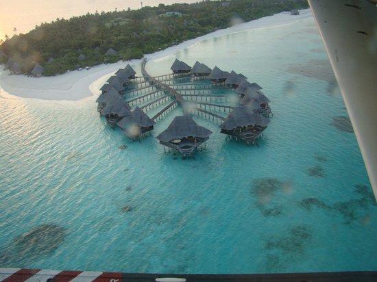 Coco Palm Dhuni Kolhu : Vue de l'hydravion