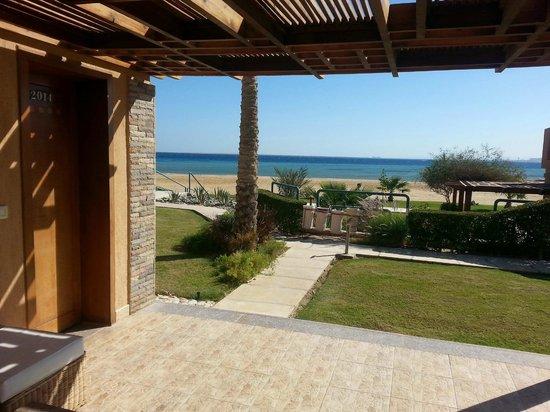Shams Prestige Abu Soma Resort : Zimmer 2014 mit Meerblick