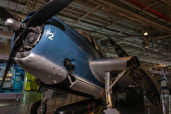 Intrepid Sea, Air & Space Museum : Внутри авианосца