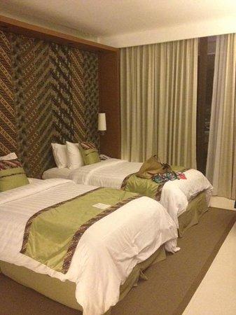 Vasanti Seminyak Resort : the twin bed