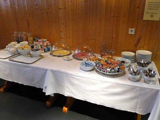 Hotel Les Lans : Le buffet du petit-déjeuner