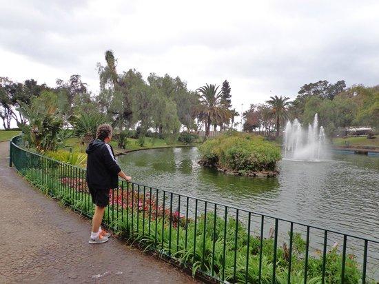 Santa Catarina Park: En lille sø
