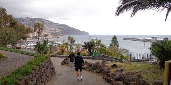 Santa Catarina Park : Flot udsigt over havnen