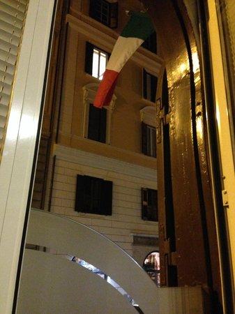 Hotel Virgilio: Vista desde la habitacion