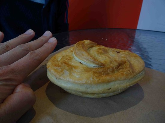 Miles Better Pies : steak bacon and mushroom pie