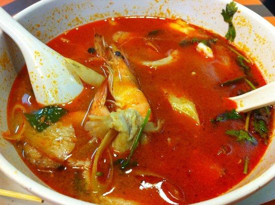 NEXT2 Cafe: Tom Yum Soup