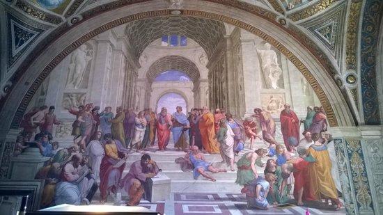 Vatikanische Museen (Musei Vaticani): La Scuola di Atene