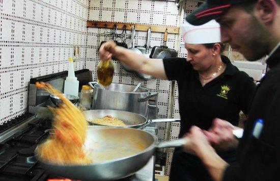 Hotel  La Bussola: In via eccezionale mi fanno entrare in cucina