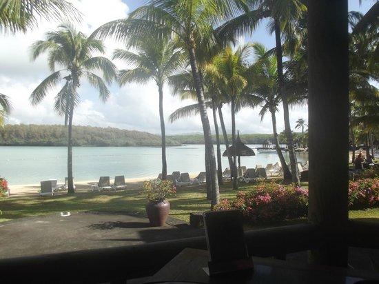Shandrani Beachcomber Resort & Spa: View from Buffet