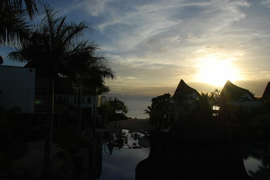 Angsana Balaclava Mauritius: Sunset at Angsana