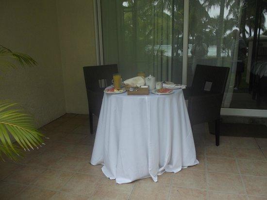 Shandrani Beachcomber Resort & Spa: Wedding Breakfast