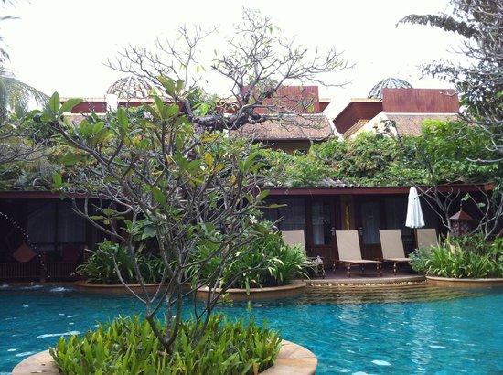 Sawasdee Village: Ein minimaler Bereich des Hotelgeländes
