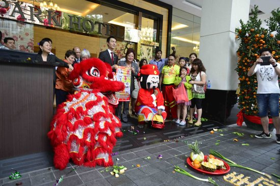 Year of the Horse celebration at Park Hotel Clarke Quay