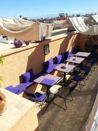 Riad Houdou : terrasse