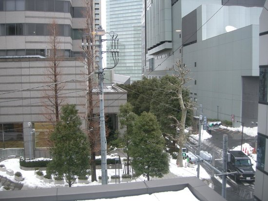 the b tokyo akasaka: View from the room