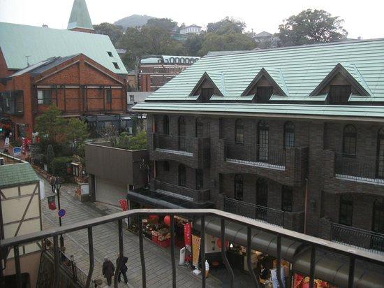 Crowne Plaza ANA Nagasaki Gloverhill: 部屋からの景色