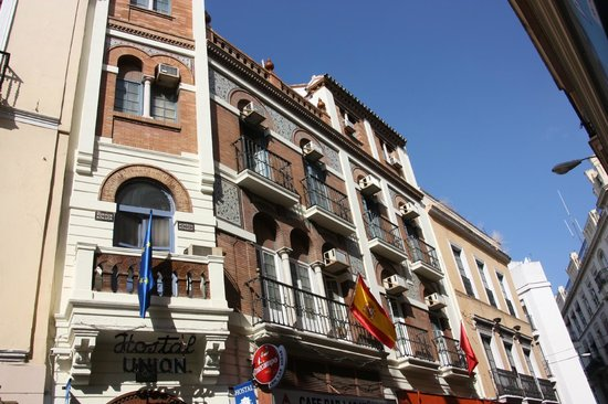 Union Campana Hostal: Fachada Patrimonio Cultural