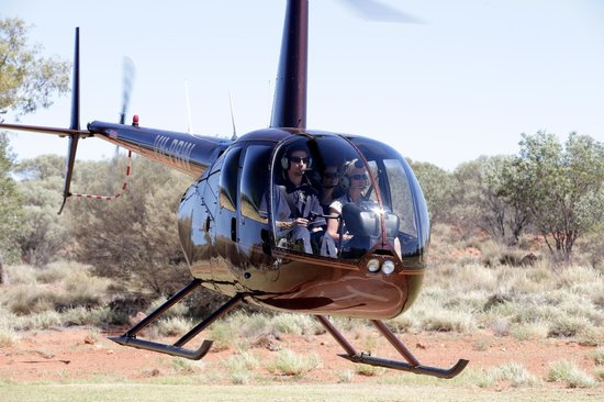 Professional Helicopter Services: Bryce taking two friends for a flight over the canyon