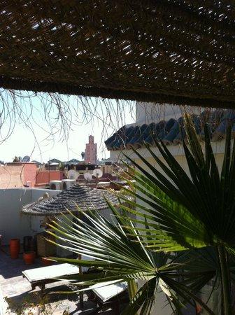 RIAD JARDIN DES REVES : La terrasse