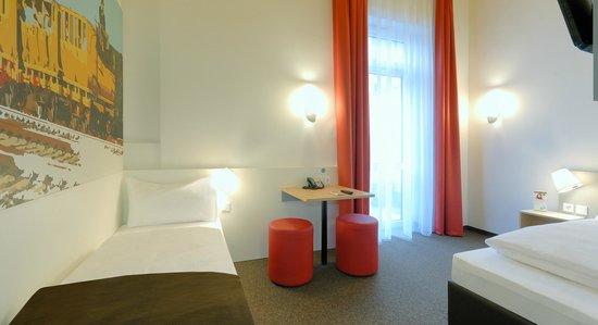 B&B Hotel Nürnberg-Hbf - Barrierefreies Zimmer