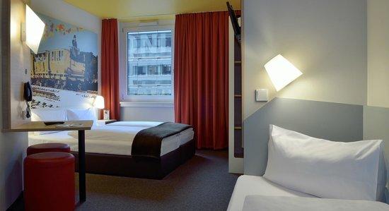 B&B Hotel Nürnberg-Hbf - Familienzimmer für 3 Personen