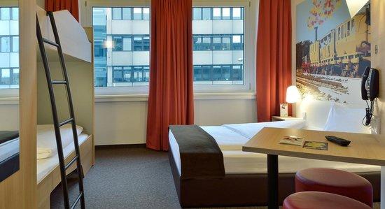 B&B Hotel Nürnberg-Hbf - Familienzimmer für 4 Personen