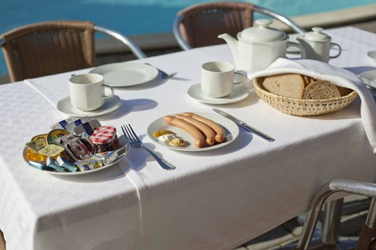 Pension Primus: Breakfast