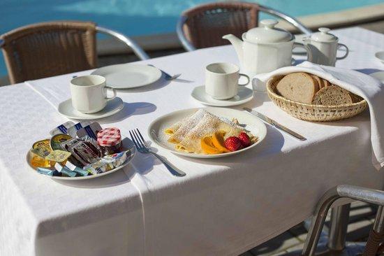 Pension Primus: Breakfast