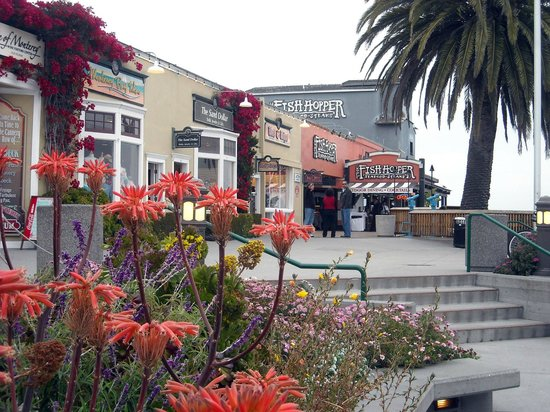 Steinbeck Plaza, Cannery Row, Monterey