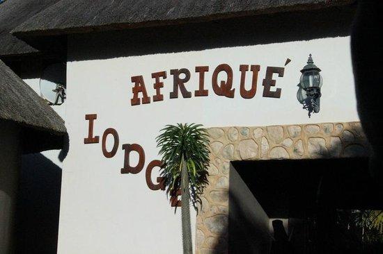 Lodge Afrique : Reception