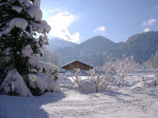 Haus Sonneck: Winter und Aussicht