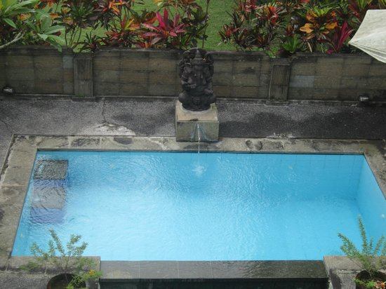 Bali Breeze Bungalows: Pool view from the bedroom