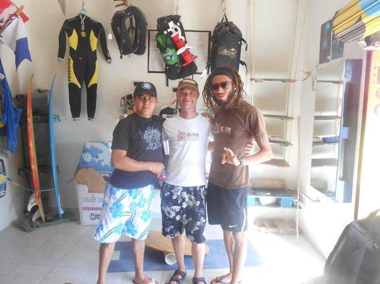Koox Diving: Victor, ich, Bebe