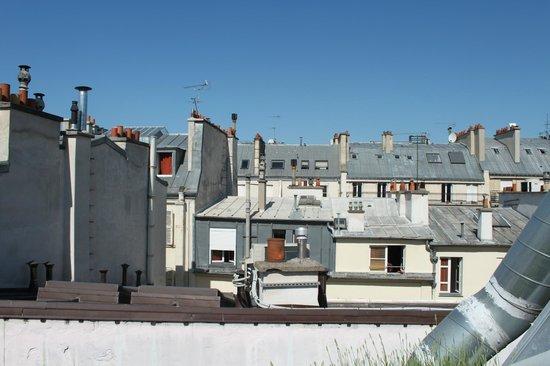 Moulin Plaza Hotel: panorama terrazzo