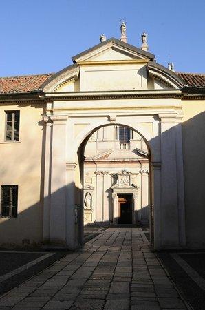 Certosa di Milano: ingresso