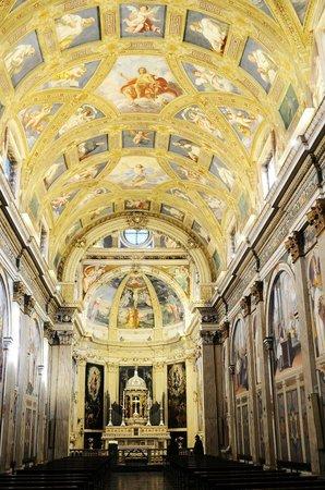 Cartuja de Milan: interno chiesa