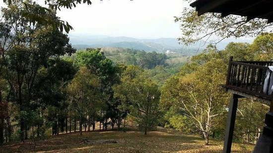 The Dusun: Spectacular view from Emas.