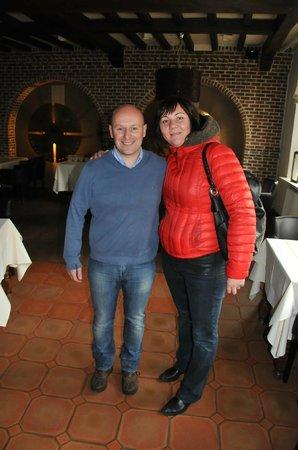 Bovendael Sports & Business Hotel: Хозяин отеля и ресторана Юрген (бывший футболист сборной Голландии)