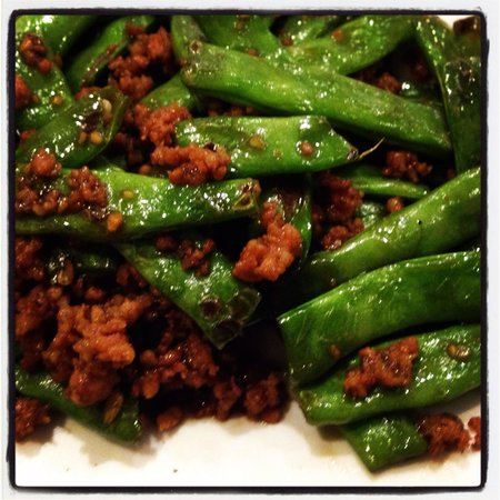 Jade Palace Chinese Restaurant: String Beans with Minced Pork