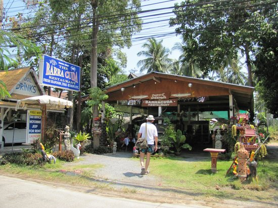 Centara Villas Samui: One of the local restaurants